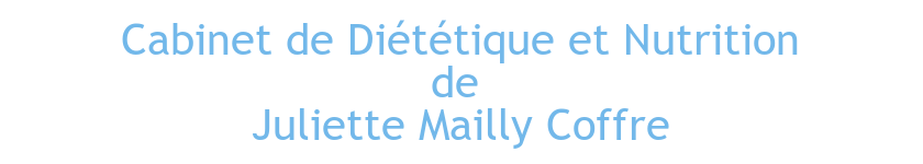 Diététicienne-Nutritionniste Juliette Mailly Coffre