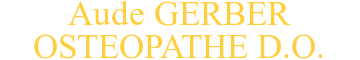 OSTEOPATHES GERBER/MARECHAL